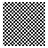 Seamless background with black and white circle Royalty Free Stock Images
