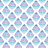 Seamless background with blue rhombuses Royalty Free Stock Photography