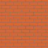 Seamless background of brick wall Royalty Free Stock Photo