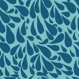 Seamless background bright drops. Drop pattern. stock illustration