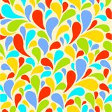 Seamless background bright drops. Vector illustration  seamless background bright drops Royalty Free Stock Photo