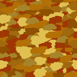 Seamless background in brown khaki colors Stock Photo