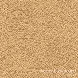 Seamless background of brown leather texture Royalty Free Stock Photos