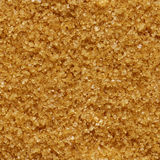 Seamless background of brown sugar Stock Image