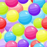 Seamless Background with Bubble Balls Royalty Free Stock Photography