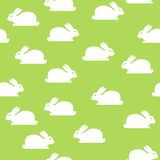 Seamless background with bunnies Royalty Free Stock Photos