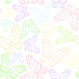 Seamless background with butterfly Royalty Free Stock Photos