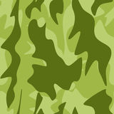 Seamless background with camouflage pattern. Illustration for Your design Royalty Free Stock Photo