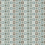 Seamless background of card suits, hearts, spades, diamonds. Clubs for textiles, interior design, for book design, website Stock Image
