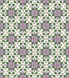 Seamless background for carpet and fabrics Royalty Free Stock Photo
