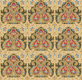 Seamless-Background for carpet and fabrics Stock Photo