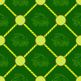 Seamless background with Celtic art and ethnic ornaments Royalty Free Stock Photos