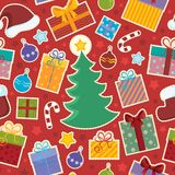 Seamless background Christmas  Royalty Free Stock Photo