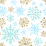 Seamless background for Christmas Royalty Free Stock Photography