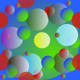 Seamless background with circles. Seamless background with colours circles Royalty Free Stock Photography