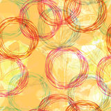 Seamless background with circles Royalty Free Stock Photo