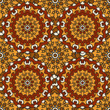 Seamless background of circular patterns mandalas. Seamless background of circular patterns colored mandalas stock illustration