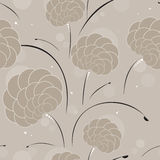 Seamless background in coffee colors Stock Photos