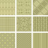 Seamless background Collection Stock Image