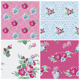 Seamless background Collection - Vintage Flowers Royalty Free Stock Photo