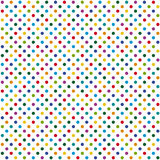 Seamless background colored dots Royalty Free Stock Photos