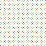 Seamless background colored dots Stock Photo