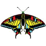 Seamless background of colorful butterflies. Vector illustration vector illustration