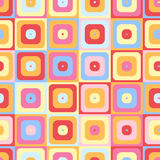 Seamless background with colorful squares. Vector  Stock Photo