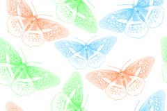 Background created from butterfly stock photos