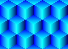 Seamless background from cubes Royalty Free Stock Photos
