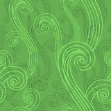 Seamless background with curved lines Royalty Free Stock Photos