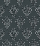Seamless Background with 3d Floral Pattern. Vector  Seamless Background with 3d Floral Pattern and  Backdrop for Greeting or Invitation Card Stock Image