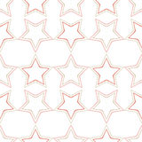 Seamless background with decorative stars. Dotted stars. Royalty Free Stock Photography