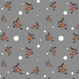 Seamless  background with  deers. Seamless  background with funny deers Royalty Free Stock Images