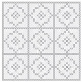 Seamless background with delicate symmetrical ornament pattern Royalty Free Stock Image