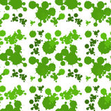 Seamless background design with green splash Royalty Free Stock Image