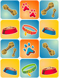 Dog Icon Theme Royalty Free Stock Images