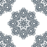 Seamless background, east ornament. Vector illustration Royalty Free Stock Image