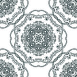 Seamless background, east ornament. Vector illustration Royalty Free Stock Photography