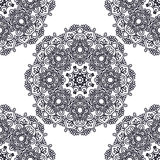 Seamless background, east ornament. Vector illustration Royalty Free Stock Photos