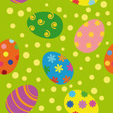 Easter seamless background Royalty Free Stock Image