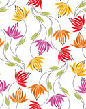 Seamless background for fabrics Stock Images