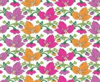 Seamless-Background for fabrics Stock Image