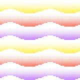 Seamless background. Fade gradient pattern. Vector gradient seamless background with halftone colored waves. Gradient. Fade gradient pattern. Vector gradient Royalty Free Stock Photo
