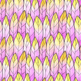 Seamless Background Feather Pattern Royalty Free Stock Images