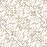 Seamless background with filigree ornament. Seamless background with a light filigree Art Nouveau ornament Stock Photography
