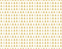 Seamless background with fir trees. Holiday Christmas pattern. Merry Christmas and a Happy New Year Stock Image