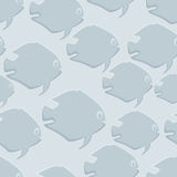 Seamless background fish. Royalty Free Stock Images