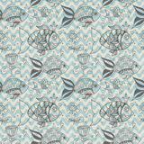 Seamless background with fish, pattern Royalty Free Stock Photos