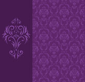 Seamless background from a floral ornament Royalty Free Stock Photo